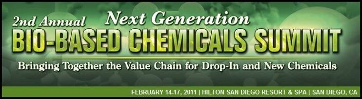 biobased chemicals summit 2011 banner