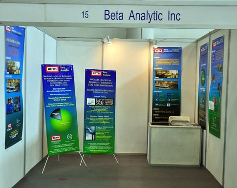 Beta Analytic Booth at WCBE 2011