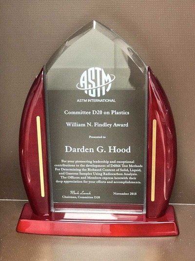 2018 ASTM Findley award